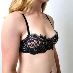 Victoria's Secret Lace Push-up Low Cut Top